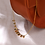 Thumbnail: Delicate Gold Stone Necklace