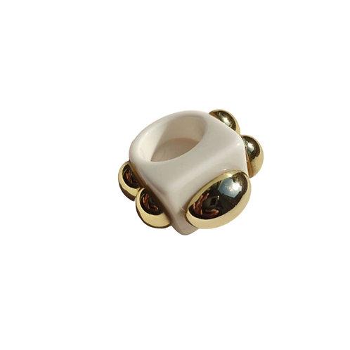 Resin Ring - White