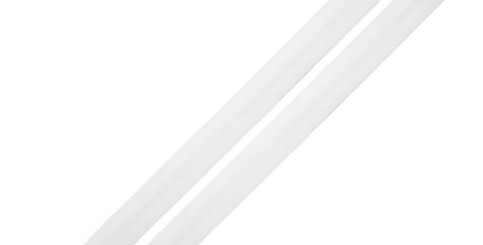 Pair of Dinner Candles - White