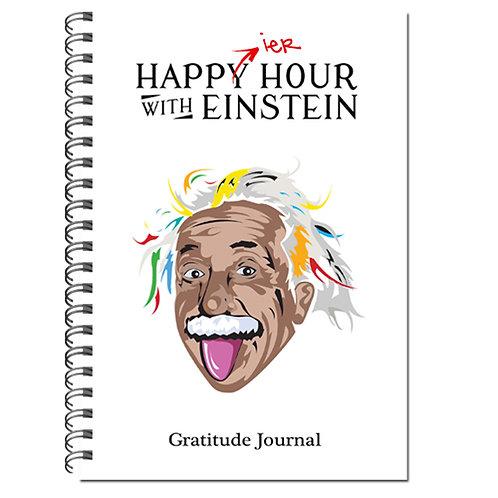 Happier Hour with Einstein Gratitude Journal