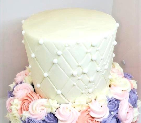 Wedding Cake Rossettes