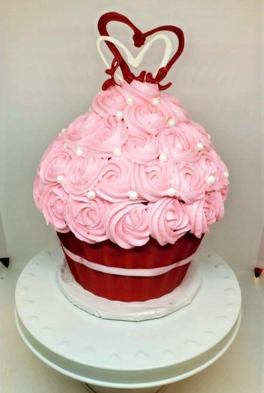 Special Occassion Cupcake Cake