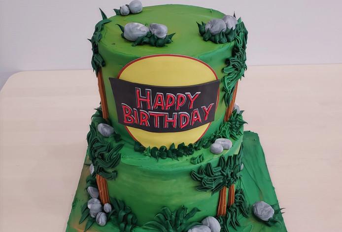 Custom Themed Birthday Cake