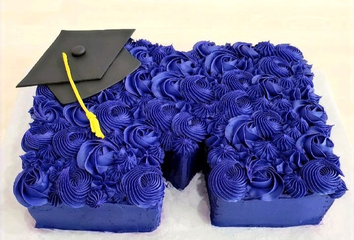 Custom Cut out cake