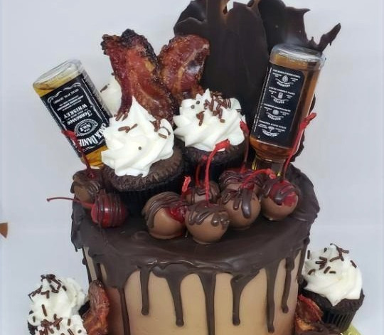 Custom Chocolate Lover Celebration Cake