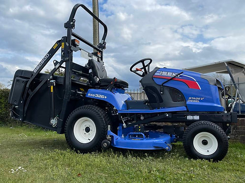 """Iseki SXG326+ compact tractor, diesel ride-on """"ONLY 89 Hours"""""""
