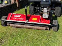 Logic MFP150 Trailed flail mower, quad bikes, utility vehicles, compact tractors