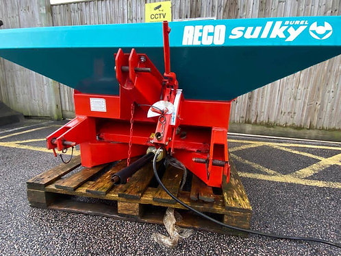 Sulky R600 Compact Tractor mounted fertiliser spreader