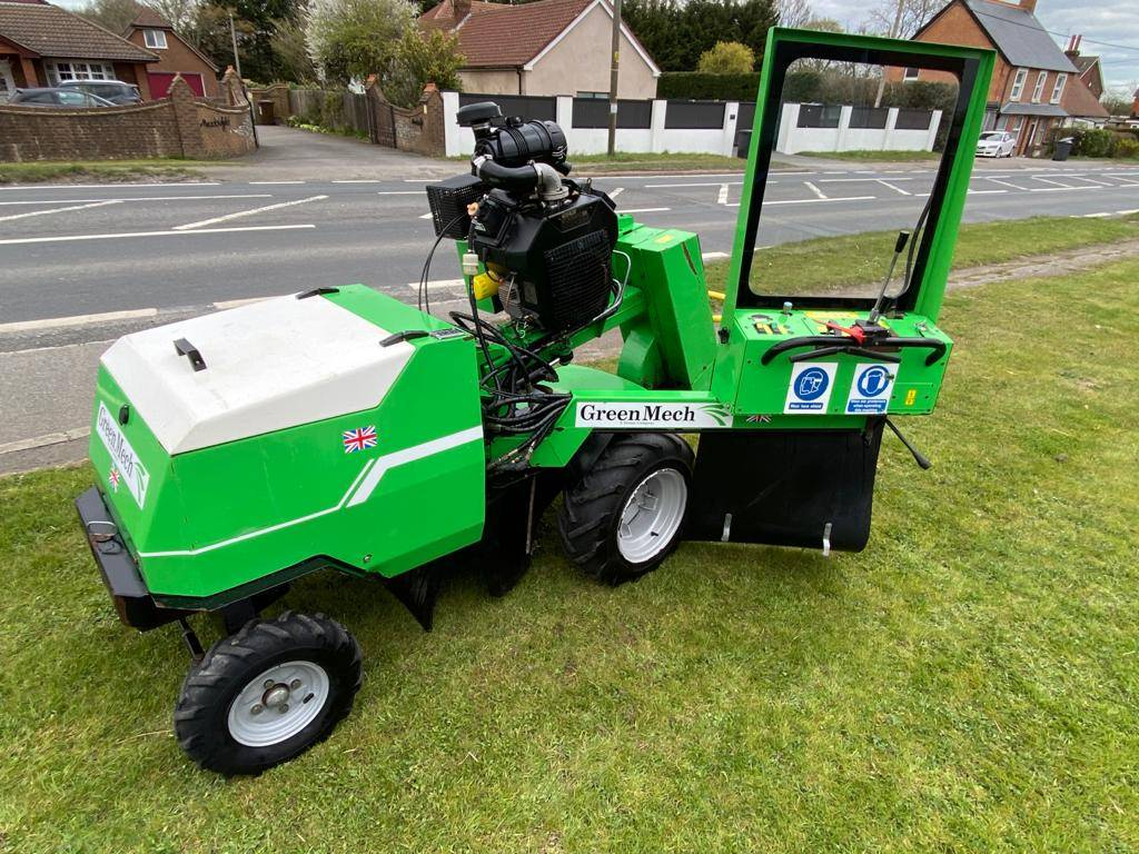 Greenmech F-50CH commercial Stump Grinder Like Terex