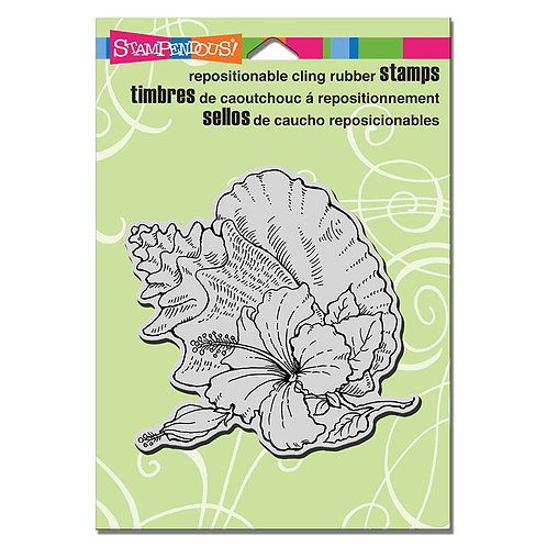 Stampendous: Hibiscus Conch Stamp