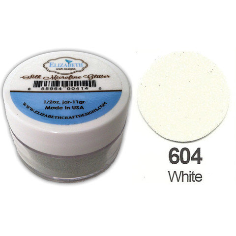 Micro-Fine Glitter - White