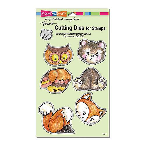 Stampendous: Woodland Friends Stamp & Die