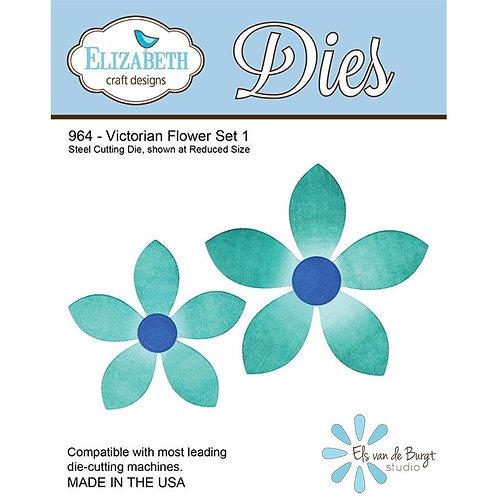 ECD Victorian Flower Set 1 964