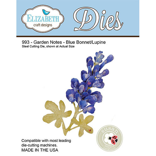 993 - Garden Notes - Blue Bonnet / Lupine