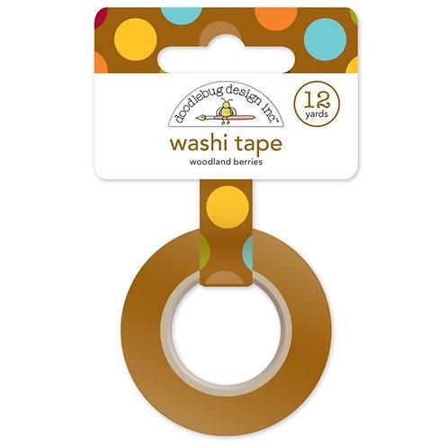 Woodland Berries Washi Tape