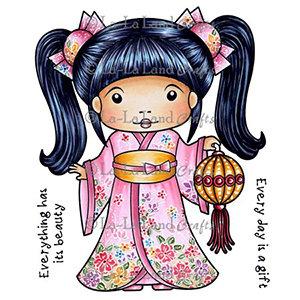 La-La Land Kimono Marci with Lantern 5261