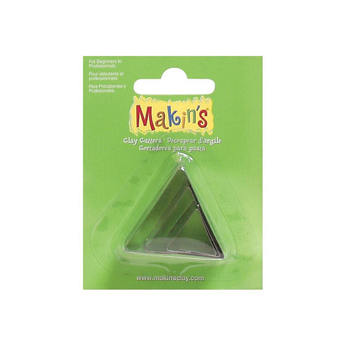Makin's Clay Cutters 3/Pkg - Triangle