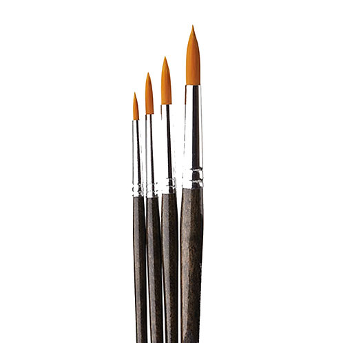 Donna Dewberry 4 Round Brush Set (DD8120)