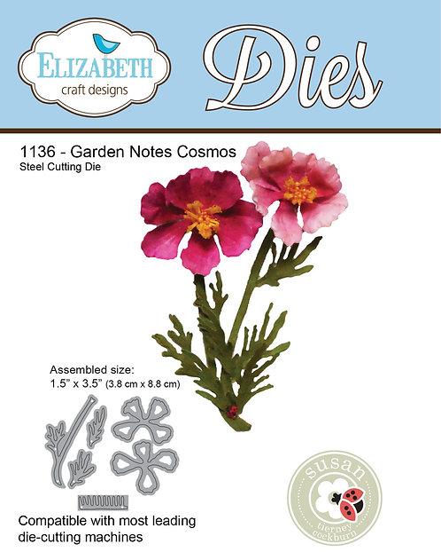 1136 - Garden Notes Cosmos