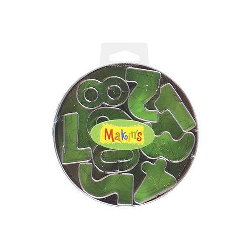 Makin's Clay Numbers Cutter Set 9/Pkg