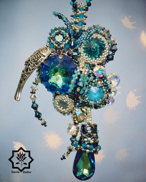 Mermaid pendant. قلادة الحورية