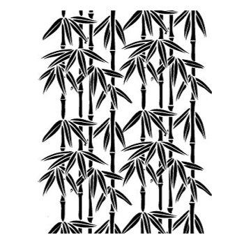 Bamboo  Embossing Folder