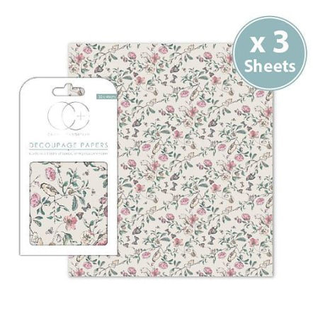 Decoupage Papers - English Garden
