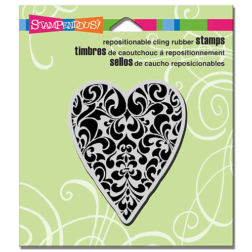 Stampendous: Ornate Heart Stamp