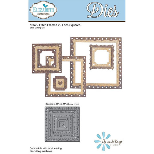 ECD Fitted Frames 2 – Lace Squares 1062