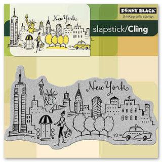 Penny Black New York Stamp