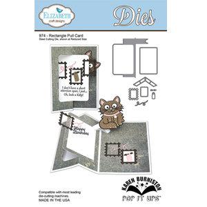 ECD Rectangle Pull Card 974