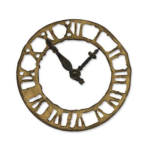 Sizzix Bigz Die - Weathered Clock