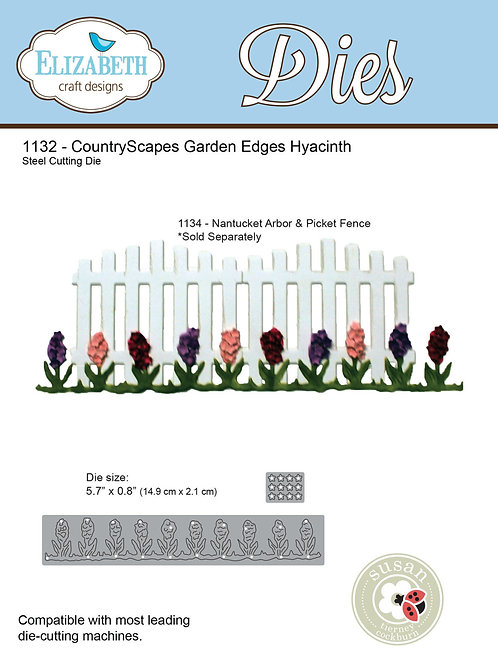 1132 - CountryScapes Garden Edges Hyacinth