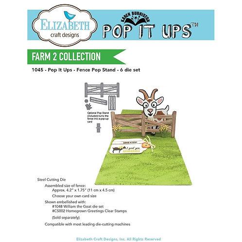 ECD Fence Pop Stand 1045