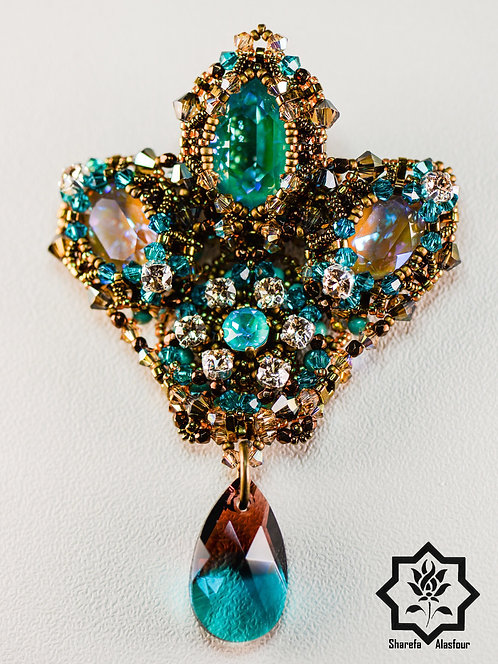 Royal brooch/ pendant. بروش/ قلادة رويال
