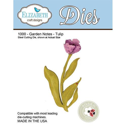 1000- Susan's Garden - Garden Notes - Tulip