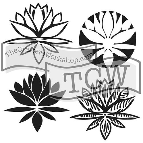 "TCW 6X6"" Mini Lotus Blossom"