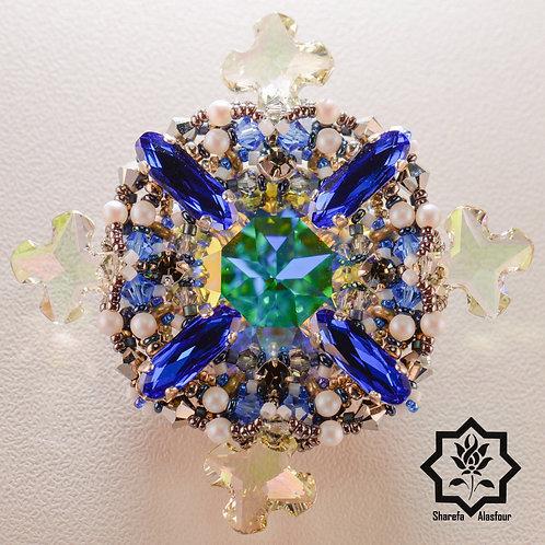The diamond brooch البروش المعين