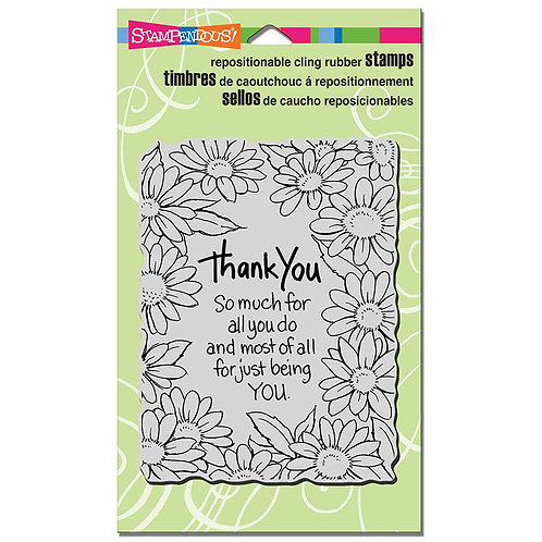 Stampendous : Thank You Daisy Stamp