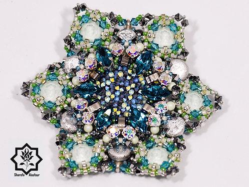 Snowflake Frost brooch/pendant.  بروش/قلادة فروست لوكجوري