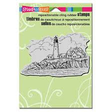 Stampendous: Portland Head Lighthouse Stamp