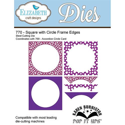 ECD Square W/Circle Frame Edges  770