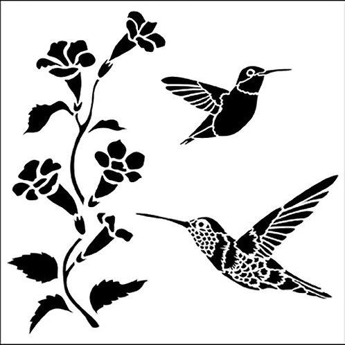 TCW 12X12 Hummingbirds
