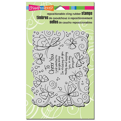 Stampendous : Cheer You Stamp