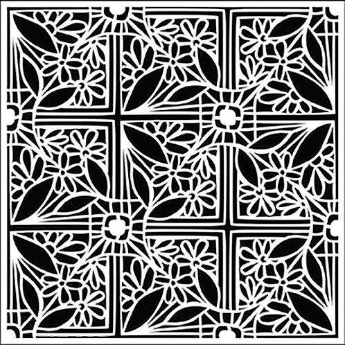 TCW 6X6 Tiled Flowers