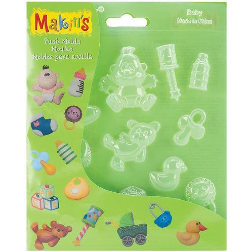 Makin's Push Molds - Baby