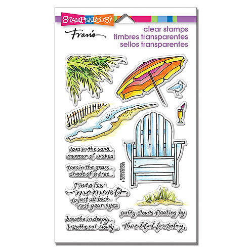 Stampendous: Seaside Chair Stamp
