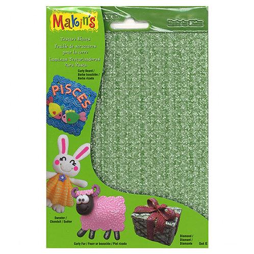 Makin's Texture Sheet Set E Set of 4