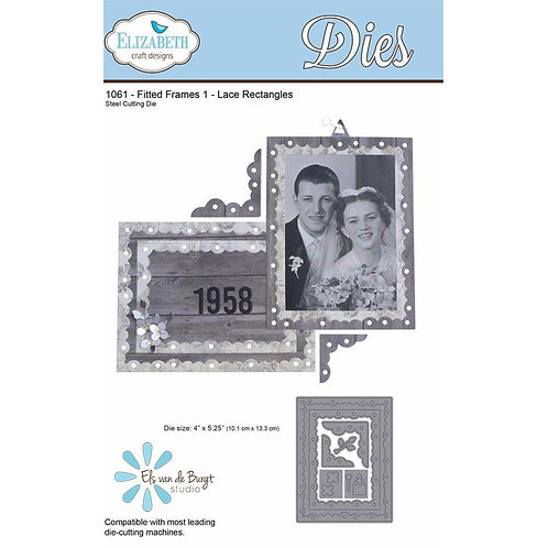 ECD Fitted Frames 1 – Lace Rectangle 1061