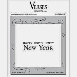 Happy Happy Happy New Year Stamp